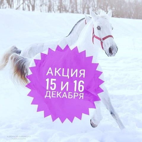 🤗Приглашаем всех желающих на конные прогулки! 🏇Выпало много снега и на улице стало намного веселей  Снежные шапки на ёлках (и иногда на наших шапках ) и море снега в полях. Самое время оторваться и поскакать на лошадках, разнообразить свои денёчки на прогулках с чудными животными. 15 декабря и 16 декабряСмены:10.00 — 2ч/1000р13.00 — 1ч/500р15.00 — 1,5ч/500р